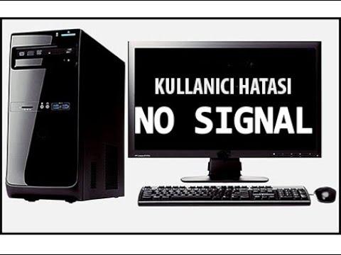 Bilgisayar Çalışıyor Ekranda Görüntü Yok-1(Çözüm Yolları)