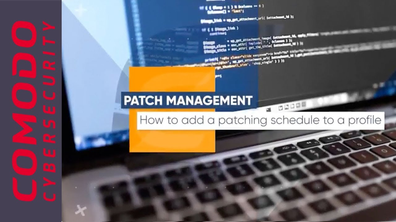 Know how to add a patching schedule to a profile | Comodo ONE