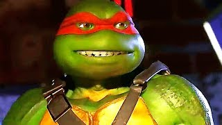 INJUSTICE 2 Tortues Ninja Gameplay Trailer (2017) PS4 / Xbox One / PC
