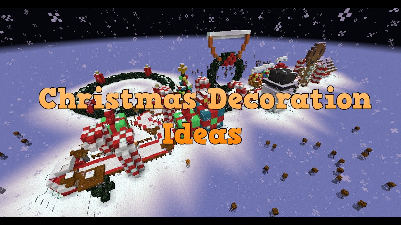 MineCraft Christmas Decorations - Best Ideas Ever! - YouTube