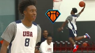 Collin Sexton Continues To Impress NBA Scouts With His PASSING & VISION at Nike HoopSummit!!