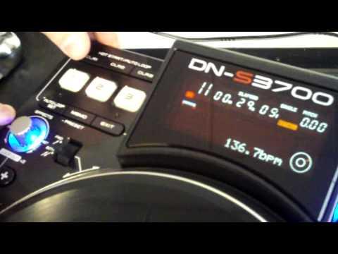 DENON DN-S3700 CD/MP3/USB/MIDI Player Overview
