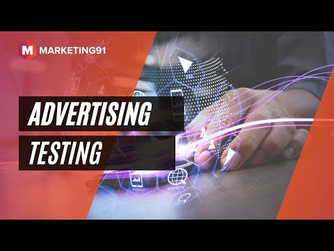 Advertising Testing - Pre testing and Post Testing of Advertising (Marketing video 187 )