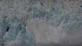 alaska hubbard glacier calving holland america