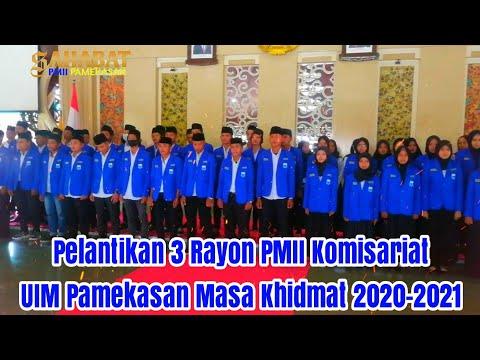 Resepsi Pelantikan Rayon PMII Komisariat UIM Pamekasan Masa Khidmat 2020-2021