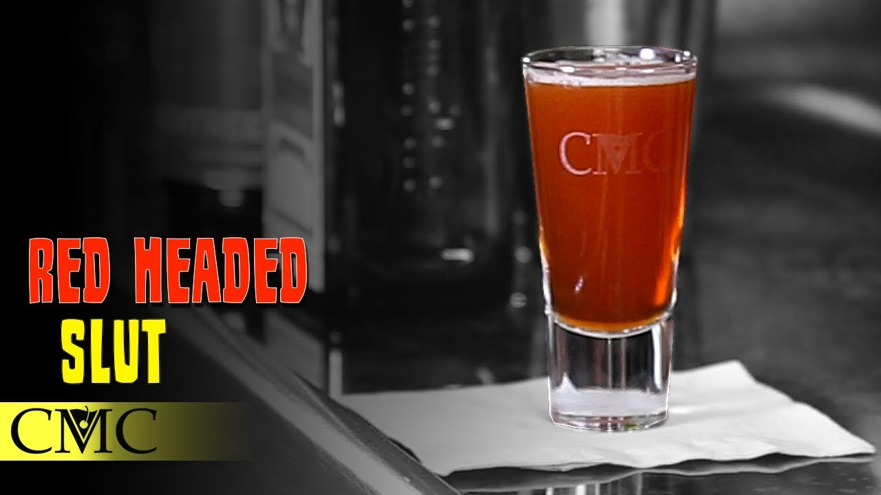 How To Make The Red Headed Slut Shot  F0 9f 8d 91 Cocktail Recipe