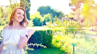 FASHION LOOKBOOK 3 DRESSES SUMMER   MAKEUPKATY