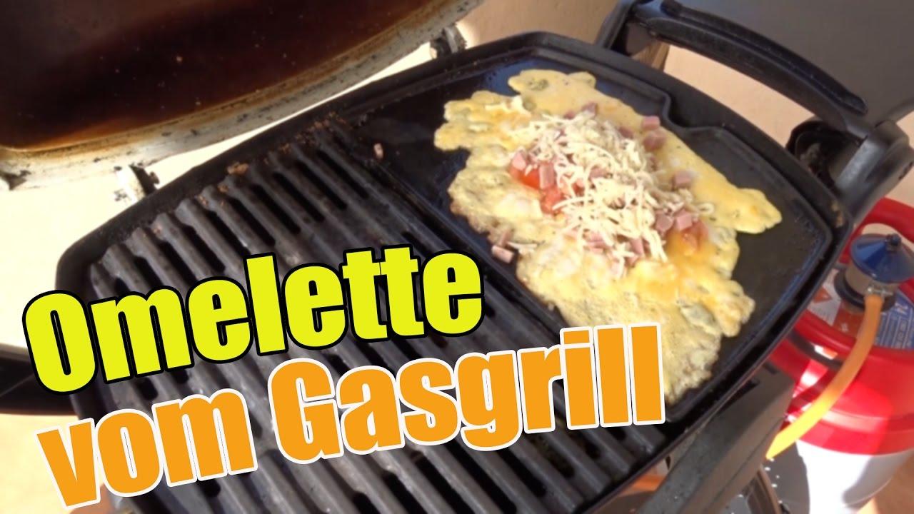 weber grillplatte omelette vom grill am sonntagmorgen. Black Bedroom Furniture Sets. Home Design Ideas