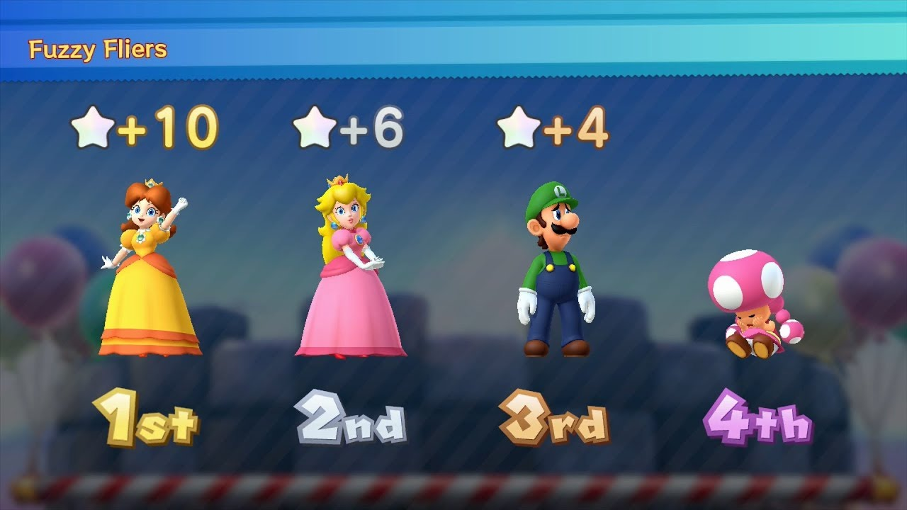 Mario Party 10 Mario Party #170 Daisy vs Peach vs Toadette ...