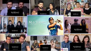 M.S.Dhoni - The Untold Story Official Trailer Reaction Mashup