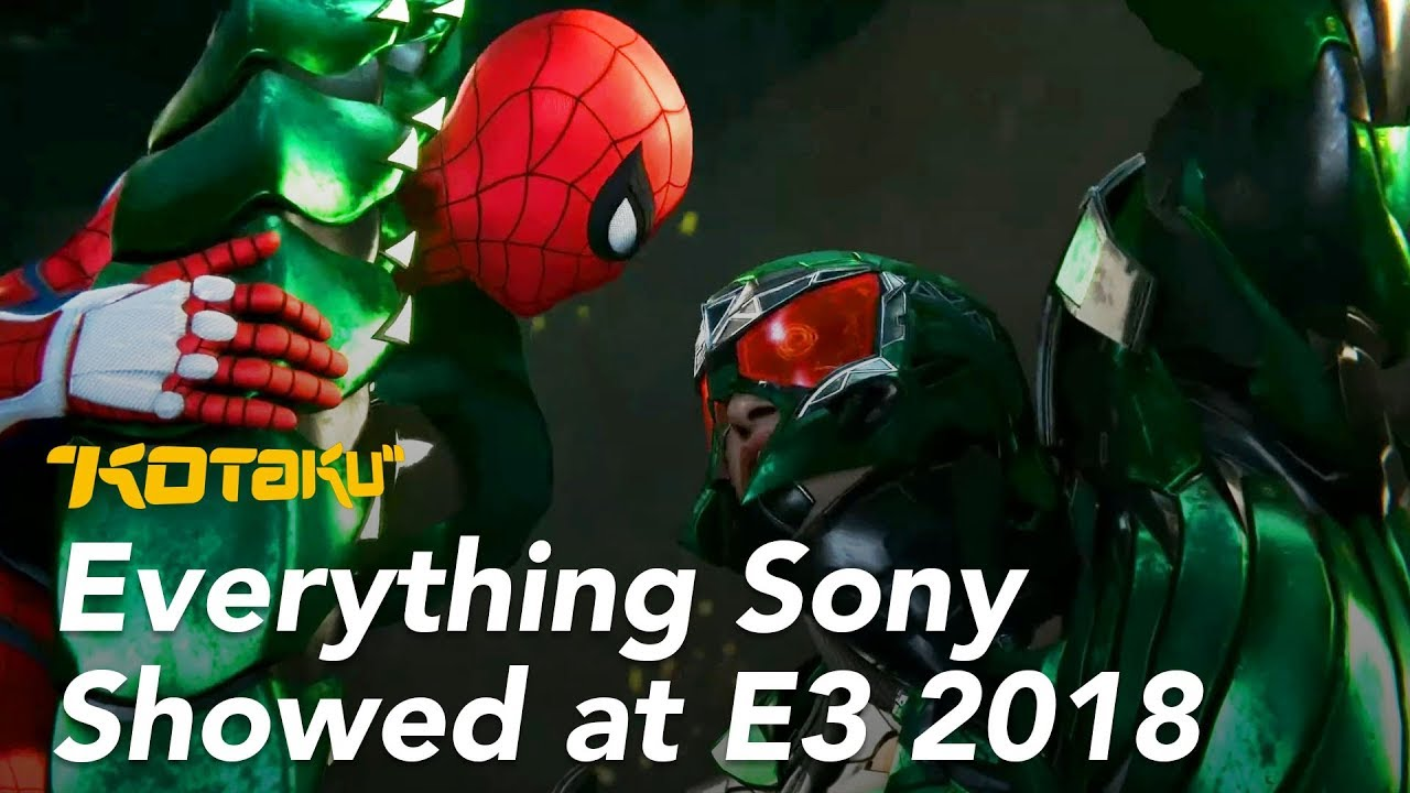 Sony E3 2018 Conference Roundup