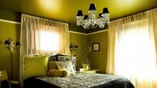 видео Спальня в зеленом цвете