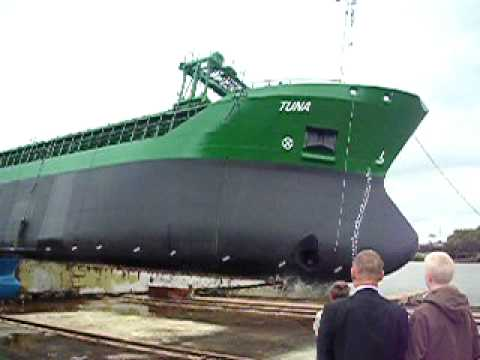 Launch of M/V Tuna