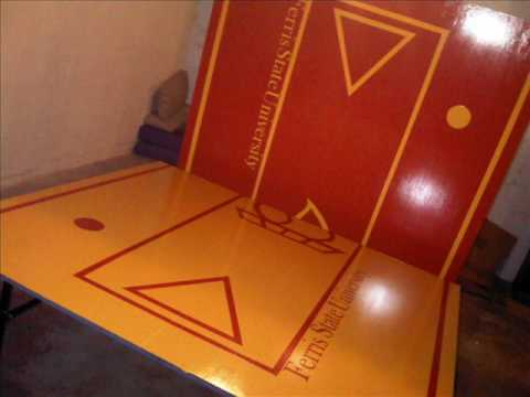 Ferris State University Beer Pong Table Youtube