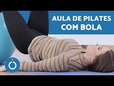 PILATES com bola - exercícios para INICIANTES