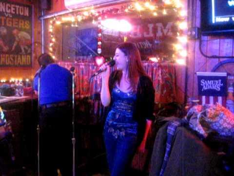Wendy Watt singing You Oughta Know by Alanis Morisette at karaoke