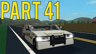 Roblox Mano County Patrol Part 41 | DOT Gone Crazy! |