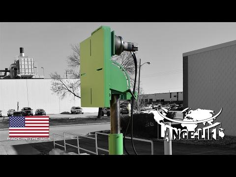 90º Power Tilt, Lift & Rotate Dual Stage Table | Lange Lift
