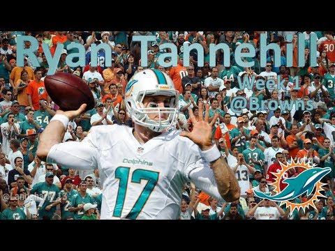 Ryan Tannehill Week 1 Browns [HD]