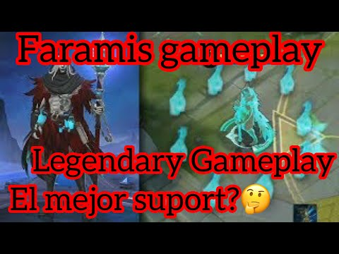 Mobile Legends : Bang Bang | Faramis Gameplay | El mejor Support? | Habilidades y Build 2019 español thumbnail