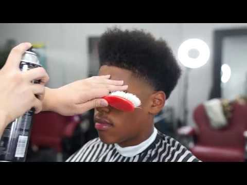 Haircut Tutorial High Taper Nappy Fro Youtube