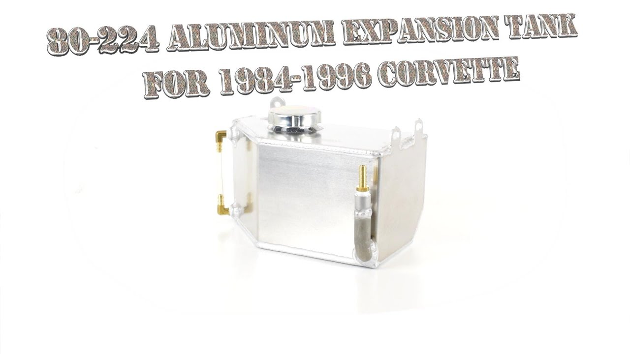 Canton Racing Products 80-224 Aluminum Coolant Recovery//Fill Tank
