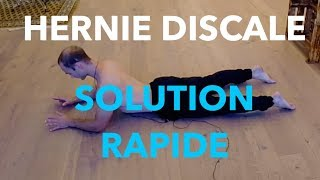 Hernie discale : ma solution rapide | ma solution mal de dos | MiniCours #05