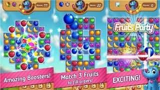 Fruits Mania : Elly's travel Android Gameplay screenshot 3