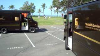 United Parcel Service delivers Thanksgiving Lunch