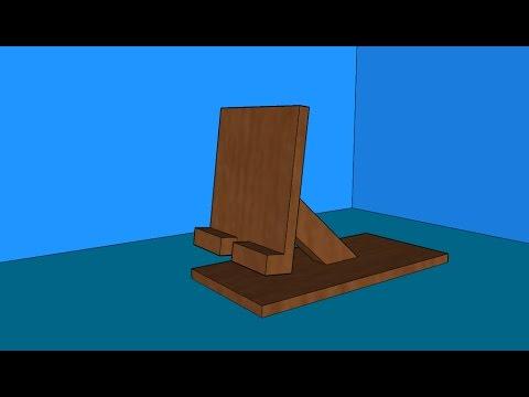 Porta cellulare in legno fai da te youtube for Fioriere fai da te in legno