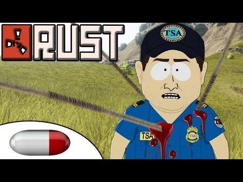 Rust Raids S2-P3 - Rock and Spear PvP Raids - TSA Strip Search Massacres - RE UPLOAD