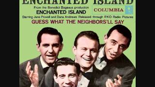 The Four Lads - Enchanted Island (1958)