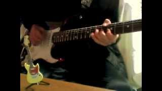 Dani California Red Hot Chili Peppers Guitar cover Please give me f...