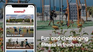 KOMPAN Outdoor Fitness App