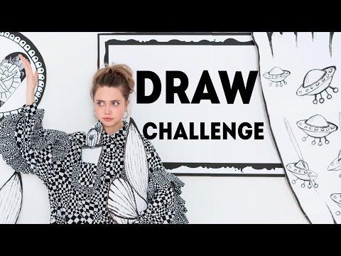 DRAW CHALLENGE #ЛенаНарисуй