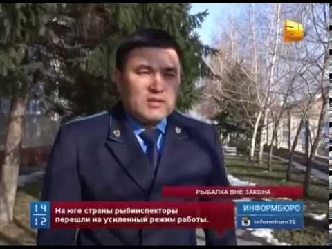В Казахстане  начал действовать запрет на  любительскую и промысловую ловлю рыбы