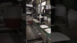 Auto Melamine Crockery Grinding Machine From China,www.melaminemould.com