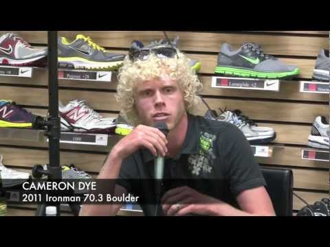 Cameron Dye, Ironman 70.3 Boulder Swim Tips and Advice