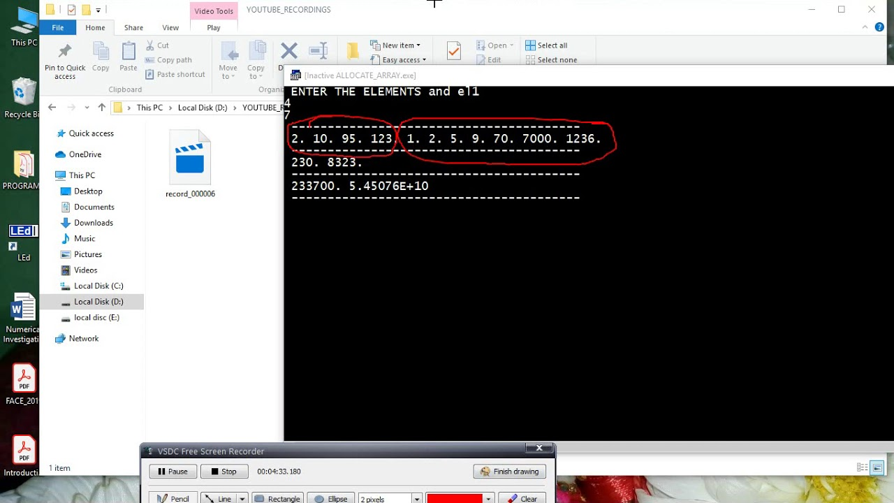 How To Allocate An Array In Fortran Youtube