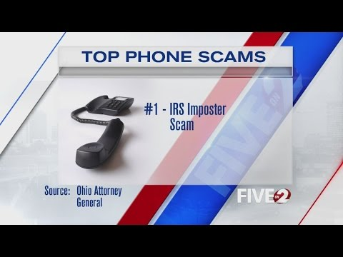 Ohio AG's top five phone scams