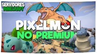 SERVIDOR DE PIXELMON MINECRAFT NO PREMIUM | Ultra UHC, Party Games, Puentes, GTA, Egg Wars, etc