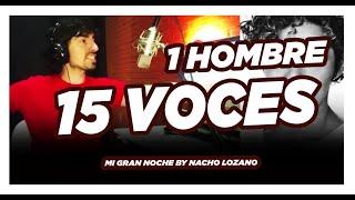 15 voces 1 cantantes - Mi gran Noche (cover de imitaciones)