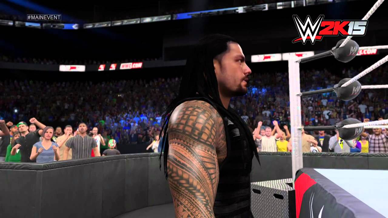 Roman Reigns Wwe 2k15 Entrance Next Gen Youtube