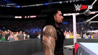 Roman Reigns' WWE 2K15 Entrance: NEXT GEN