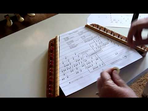 Tuning Your Zither to a Harmonic Minor Key