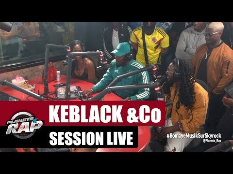 Session live avec Keblack, Bamby & Jahayanai, ADMK, Keza, Petio & PMB #PlanèteRap
