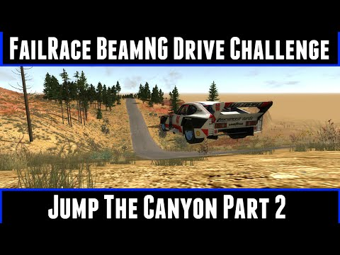 FailRace BeamNG Drive Challenge Jump The Canyon Part 2 poster