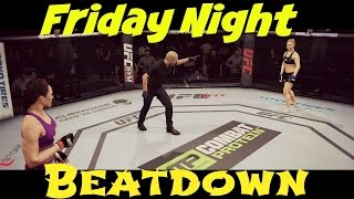 EA UFC Rousey v. Zingano | Friday Night Beatdown!