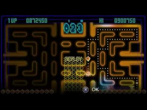 Pac-Man Championship Edition (PSP): Extra Mode 3 - 900.750 Points By Nahucirujano