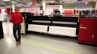 Anapurna M3200i RTR - high-speed roll-to-roll UV-inkjet printer.